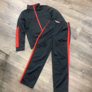 Adorable Boys Track Suit, Size M 8